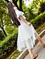 Damen Einfach Niedlich Ausgehen Lässig/Alltäglich Midi RöckeGitter einfarbig Frühling Sommer