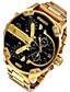 Herrn Kinder Sportuhr Militäruhr Kleideruhr Modeuhr Armbanduhr Armband-Uhr Armbanduhren für den Alltag QuartzKalender Duale Zeitzonen