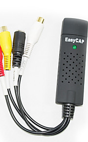 vídeo easycap + adaptador de audio