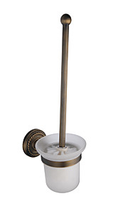 Antique Brass Wall-mounted Toilet Brush Holder