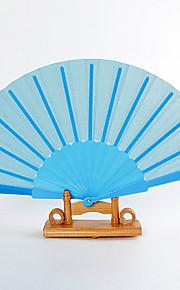 Soie Ventilateurs et parasols-# Pièce / Set Eventail Thème de jardin Thème classique Bleu 42cmx23cmx1cm 2.4cmx23cmx1cm