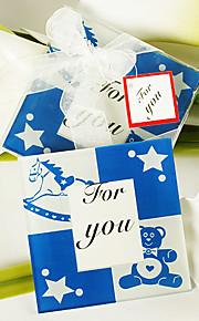 Ca. Høyde Glass Blå Baby Shower Fester og gaver # Eventyr Tema Ikke-personalisert