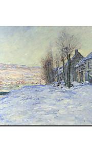 Peinture à l'huile réalisée à la main sur canevas tendu de Claude Monet