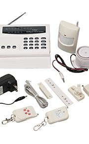 intelligente sans fil à domicile d'alarme de sécurité du système d'auto dialer 8 zones