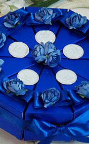 pur boîte de faveur amour gâteau (jeu de 10)