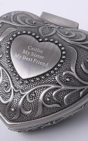 personnalisé millésime coeur tutania conception boîte à bijoux