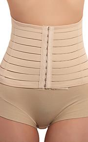 algodão e chinlon frente busto fechamento da cintura chincer shaper lingerie sexy