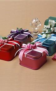 haute qualité avec des boîtes favorisent l'arc et fleurs - set de 12 (plus de couleurs)