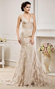 Lanting Bride® Trompette / Sirène Petites Tailles / Grandes Tailles Robe de Mariage - Classique & Intemporel / Elégant & Luxueux Colorées