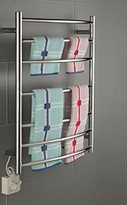 70W Arc Wall Mount Circular Tube Towel Warmmer Drying Rack