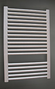 550W Hydronic Low-Carbon Steel White Painting Wall Mount Square Pipe Towel Warmmer Drying Rack