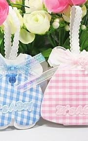 Baby Shower Party Favors & Gifts # Bedank Tassen Geweven Stof Klassiek Thema Niet-gepersonaliseerd Roze/Blauw