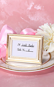 Zinc Alloy Place Card Holders Frame Style Gift Box