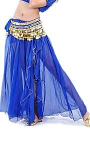 femmes jupe en mousseline de performance de danse du ventre