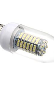 E26/E27 8 W 138 SMD 3528 620 LM Varm hvit/Kjølig hvit C Lysestakepære AC 220-240 V