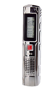 Professionel Digital Voice Recorder med LCD display (4 GB)