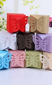 boîte de papillon faveur haut - jeu de 12 (plus de couleurs)