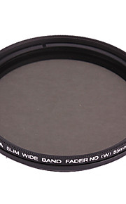 FOTGA Ultra Thin Fader variabele Neutral Density ND2 ~ ND400 filter (55mm)