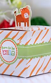 Firkantet Part favoriserer og gaver Baby Shower Yndlingsæsker Eventyr Tema