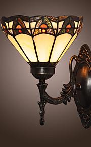 KERR - Wandlampe Tiffany mit 1 Glühbirne