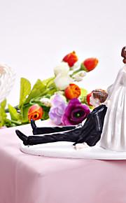gâteau toppers mariée heureuse& marié de gâteau