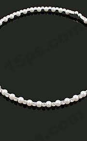 Collier Mariage/Engagement/Cadeau/Sorée/Quotidien Imitation de perle/Strass Alliage Femme