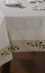 Klassische Bettwäsche Weiß Olive Branch Tischdecken