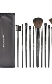 12 Brush Sets Overige / Nylonkwast / Synthetisch haar Beperkt bacterieën Gezicht / Lip / Oog MAKE-UP FOR YOU