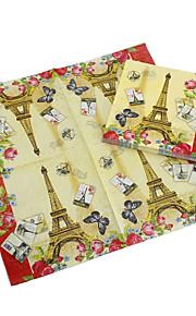 Francia Torre Eiffel servilletas-conjunto de 20