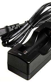 AC-oplader voor 18650 Oplaadbare Li-ion 3,7 V batterij