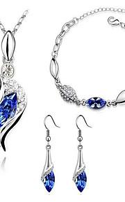 z&x® Frauen österreichischen Kristall-Diamant-Modeschmuck 1083