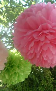 結婚式の装飾20インチの紙の花 - 4(もっと色)のセット