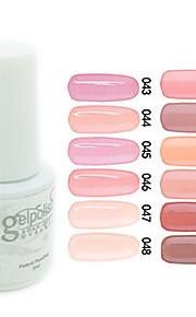 yemannvyou®sequins uv kleur gel nagellak no.37-48 (5 ml, diverse kleuren)