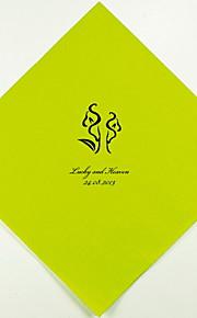Boda personalizada servilletas Calla Lily (más colores) Juego de 100