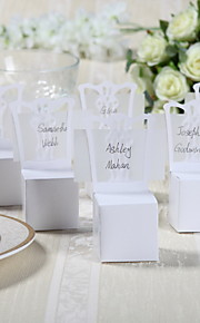 12 Piece/Set Favor Holder Card Paper Favor Boxes Chair With Place Card Holder