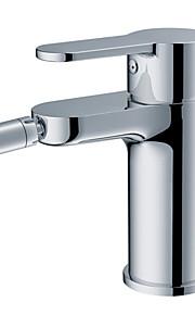 Chrome Swivel pulvérisation en laiton robinet de bidet