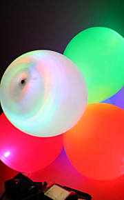 bröllop inredning ledde blinkande ballong dekoration - uppsättning av fem (fler färger)