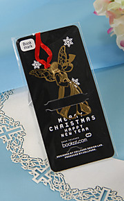 Golden Angel Bookmark with Red Ribbon