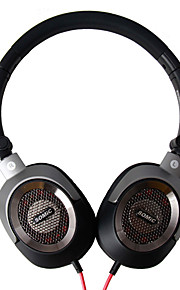 Somic MH438 Sammenfoldelig Superbass HIFI Over-Ear Monitoring hovedtelefoner til pc / iPhone / Samsung / HTC / iPad / mobil