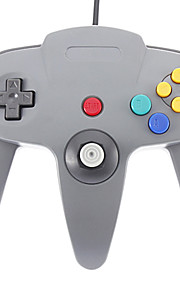 Wired Joystick Video Game Controller til Nintendo 64 (sort)