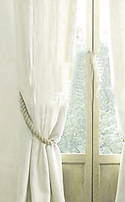 American Country Ivory Tie Back (One Pair)