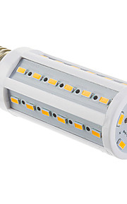e27 9w 42x5730smd 810lm chaude lumière blanche / froid led ampoule de maïs (220-240V)