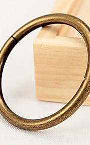 Estilo Retro sólida cortina Clipe Ring - 2pcs (3,8 centímetros de diâmetro)