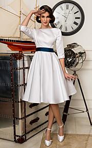 Lanting Bride® Corte en A Tallas pequeñas / Tallas Grandes Vestido de Boda - Clásico y Atemporal / Vestidos de RecepciónSimplemente