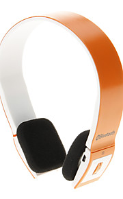 8086 Bluetooth Headset Music On-ear øretelefon til iPhone Ipad Computer (orange)