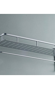 후크 공간 알루미늄 욕실 단 하나 층 수건 선반