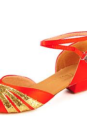 Satin et mousseux Sandales Glitter latine / danse de salon des femmes (plus de couleurs)