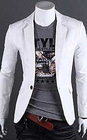 mænds ren farve blazer