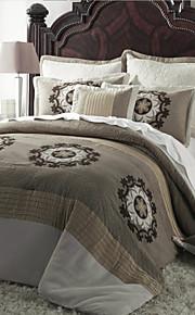 Комплект постельного белья из 7 предметов из полиэстера с цветочным узором в стиле кантри