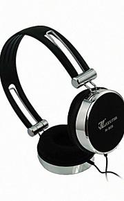 Lizu 809 Sammenleggbar On-Ear hodetelefon med mikrofon for Mobiltelefon / Computer